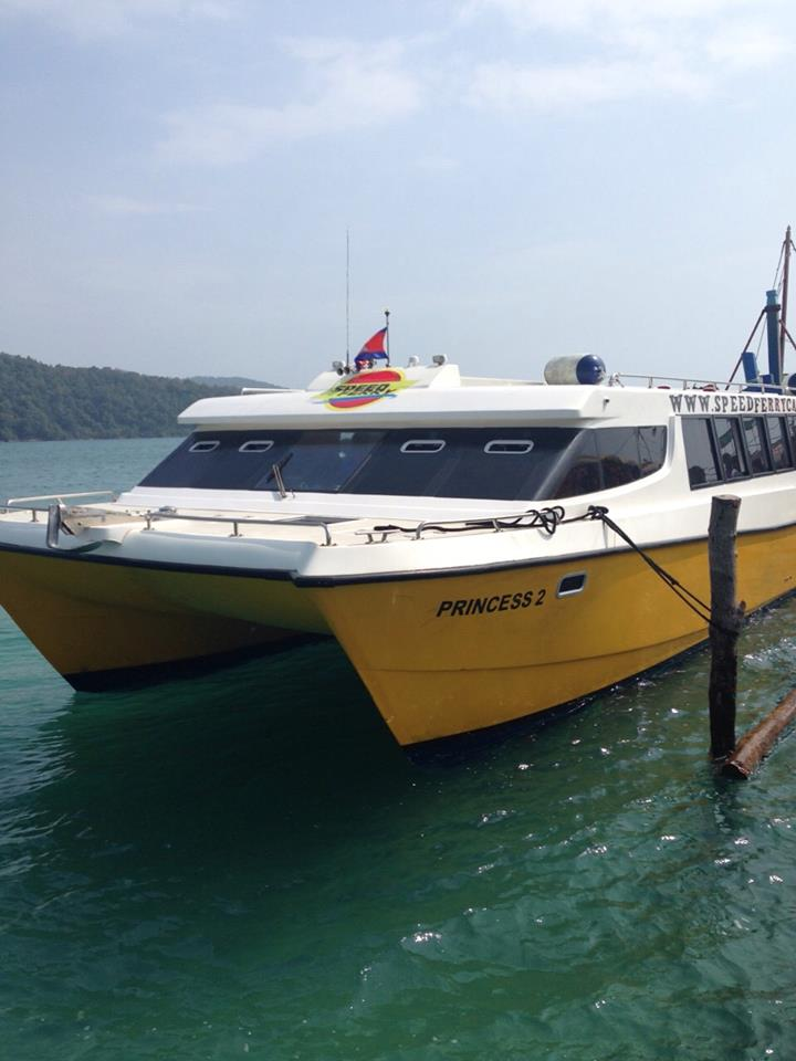 Speed Ferry Cambodia, Phnom Penh to Koh Rong Samloem, Phnom Penh to Koh Rong, Ferry Tickets