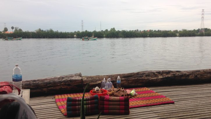Chilling in Kampot