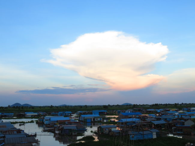 Kampong Chhnang floating village