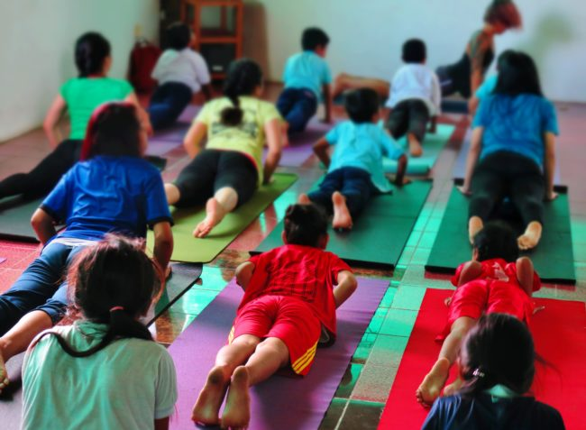 Yoga in Phnom Penh