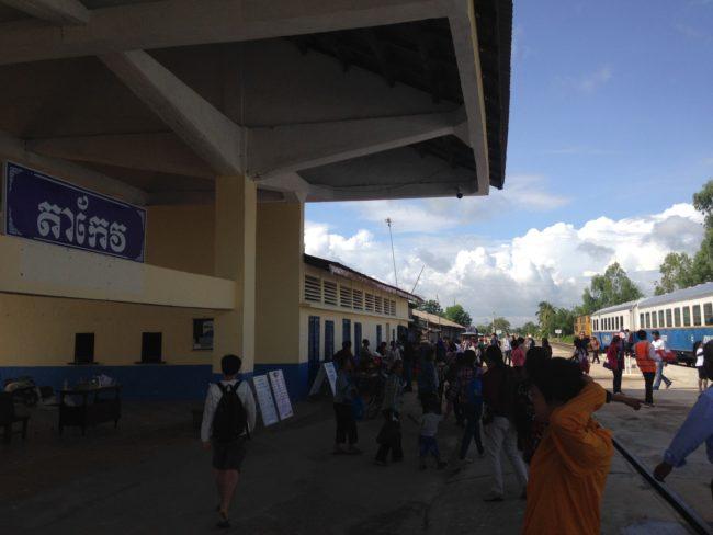 Train to Kampot