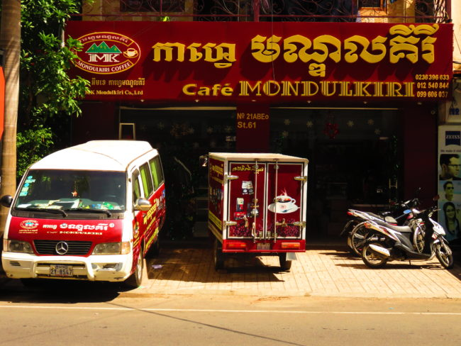 Coffee Places in Phnom Penh